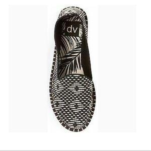 DV by dolce vita Black and white espadrilles